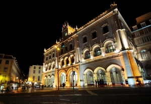 Rossio Central Railway Station 6